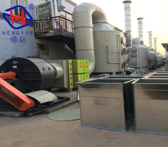 工业喷涂废气处理工程