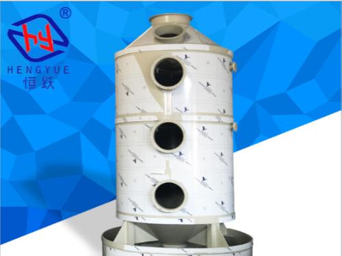 酸雾废气处理设备的工艺流程