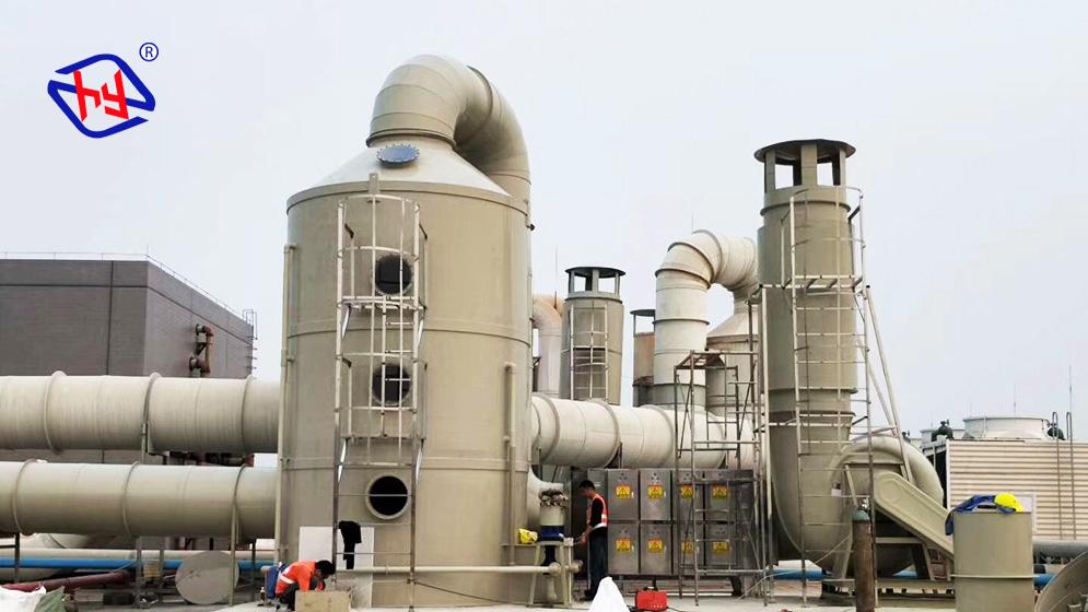 注塑加工有机废气治理方案