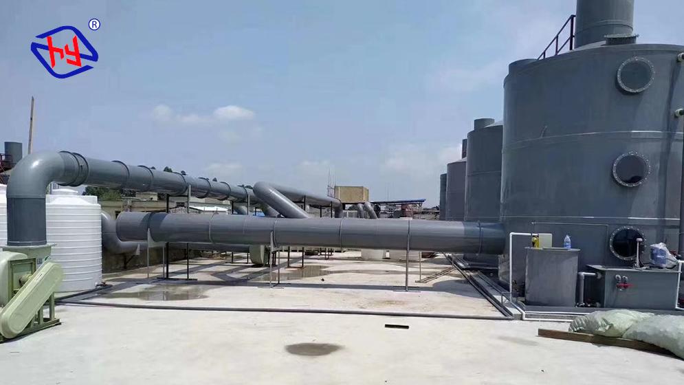 电子厂活性炭吸附装置废气处理工程方案