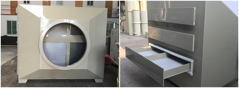 活性炭吸附箱制造工艺图