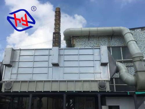 高压湿式静电除雾除尘器处理电镀氧化三酸黄烟废气案例